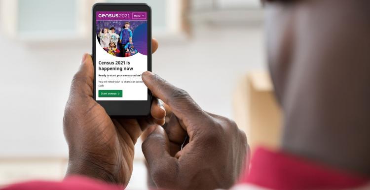 Census 2021 online
