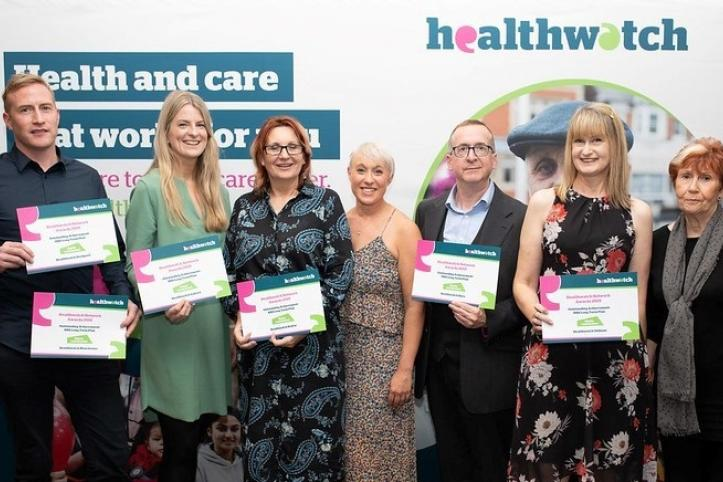 HWE Highly commended award for the NHS Long Term Plan