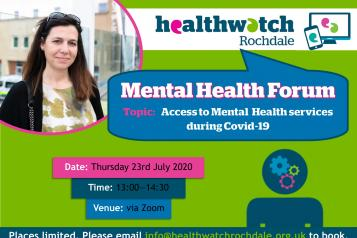 Mental Health Forum Poster