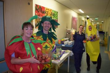 Staff at Royal Oldham Hospital Ward F11