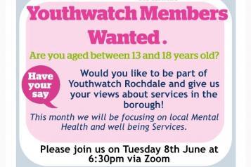 Youthwatch Rochdale June Poster