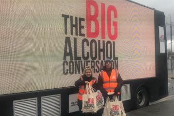 Big Alcohol Conversation Bus