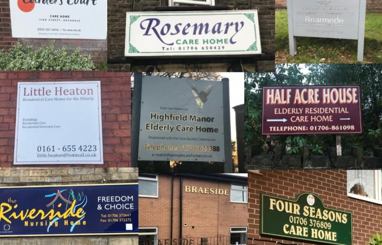 Care Home Signs